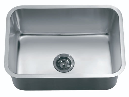 "Dawn ASU2316 Single Bowl 25"" Undermount Stainless Steel Kitchen Sink-Kitchen Sinks-DirectSinks"