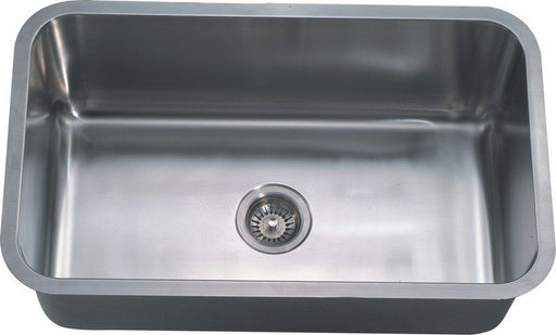 "Dawn ASU106 Single Bowl 30"" Undermount Stainless Steel Kitchen Sink-Kitchen Sinks-DirectSinks"