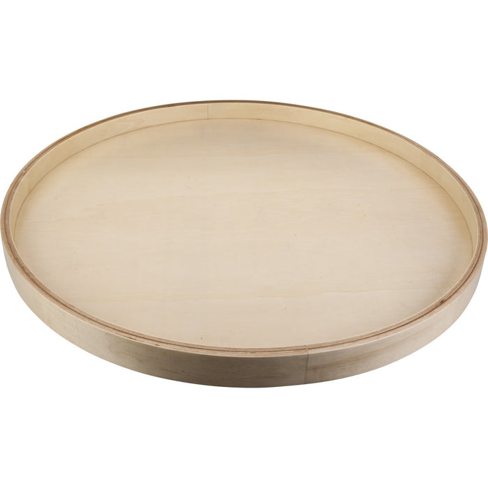 "Hardware Resources 24"" Round Banded Lazy Susan-DirectSinks"