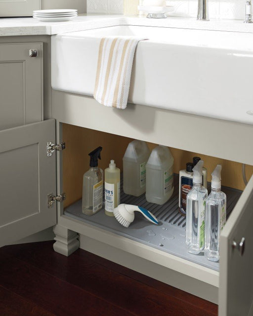 Rubber Cabinet Mat for Your Sink Base Cabinet-DirectSinks