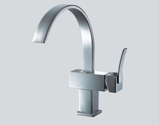 Dawn D783258 Single Lever Sheetflow Spout Kitchen Faucet-Kitchen Faucets Fast Shipping at DirectSinks.