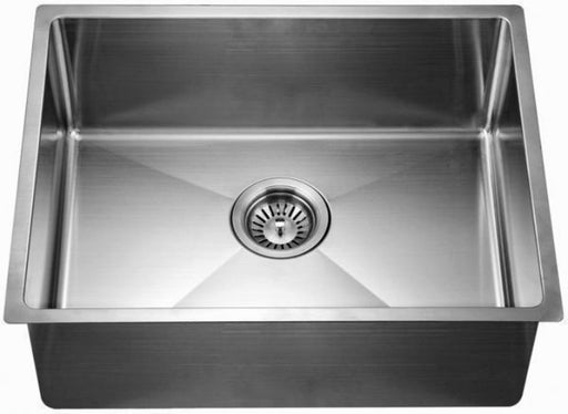 "Dawn 22"" Single Bowl Undermount 18 Gauge Stainless Steel Kitchen Sink-Kitchen Sinks Fast Shipping at DirectSinks."