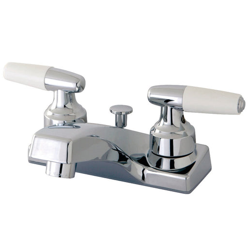 Kingston Brass KB201 4-Inch Centerset Bathroom Faucet in Polished Chrome-DirectSinks