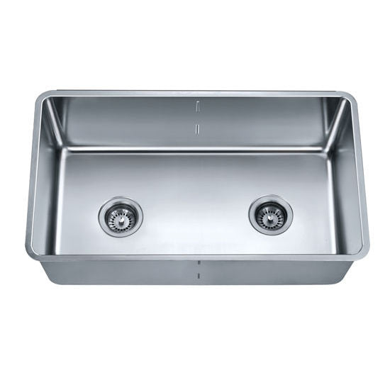 Dawn Single to Double Bowl Combination Kitchen Sink with Removable Acrylic Glass Divider
