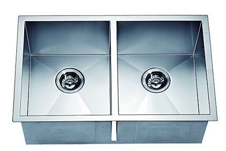 "29"" Double Bowl Dual Mount 18 Gauge Stainless Steel Kitchen Sink-Kitchen Sinks Fast Shipping at DirectSinks."