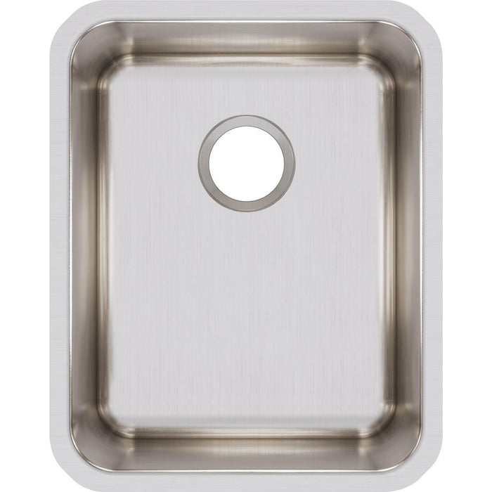 "Elkay Lustertone Classic Stainless Steel 16-1/2"" x 20-1/2"" x 9-7/8"", Single Bowl Undermount Sink-DirectSinks"
