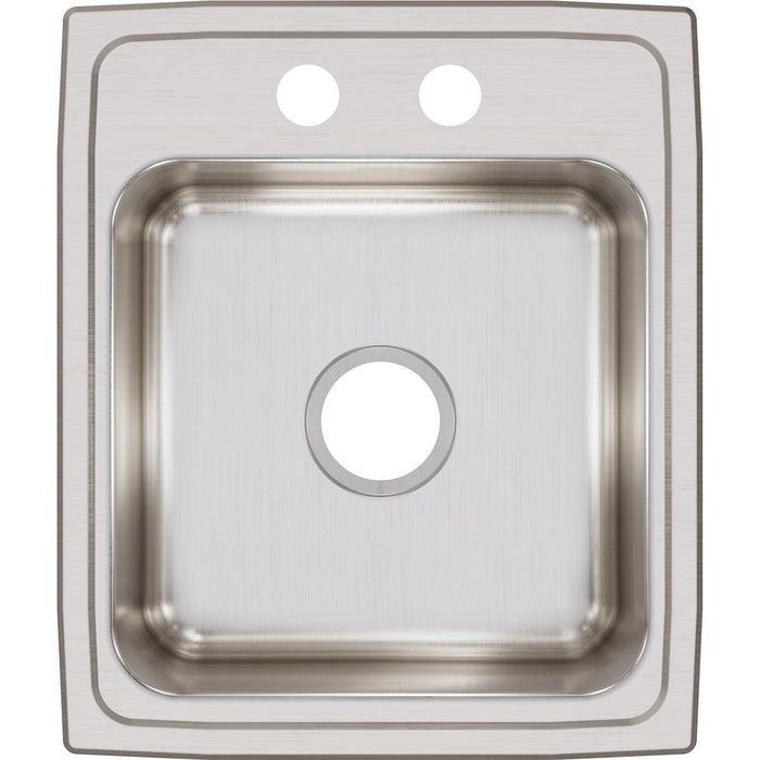 "Elkay Lustertone Classic Stainless Steel 17"" x 20"" x 7-5/8"", Single Bowl Drop-in Sink-DirectSinks"