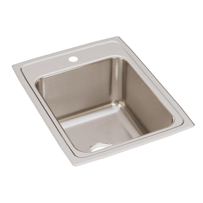 "Elkay Lustertone Classic Stainless Steel 17"" x 22"" x 10-1/8"", Single Bowl Drop-in Sink-DirectSinks"