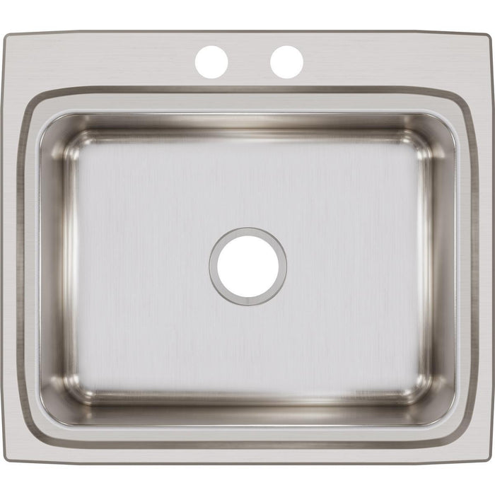 "Elkay Lustertone Classic Stainless Steel 25"" x 22"" x 8-1/8"", Single Bowl Drop-in Sink-DirectSinks"
