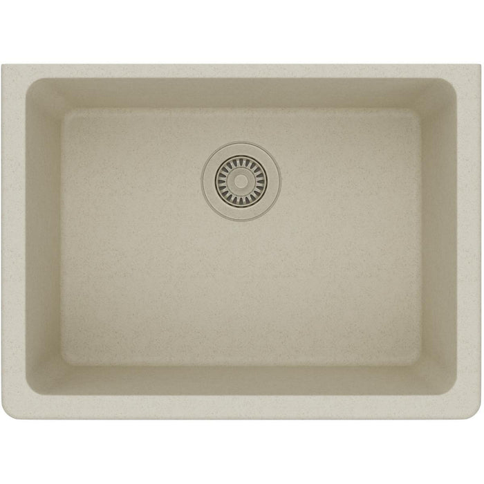 "Elkay Quartz Classic 24-5/8"" x 18-1/2"" x 9-1/2"", Single Bowl Undermount Sink-DirectSinks"