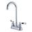 Kingston Brass NuWave French 4-Inch Centerset High-Arch Bar Faucet