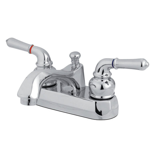 Kingston Brass KS4261NML 4-Inch Centerset Bathroom Faucet in Polished Chrome-DirectSinks