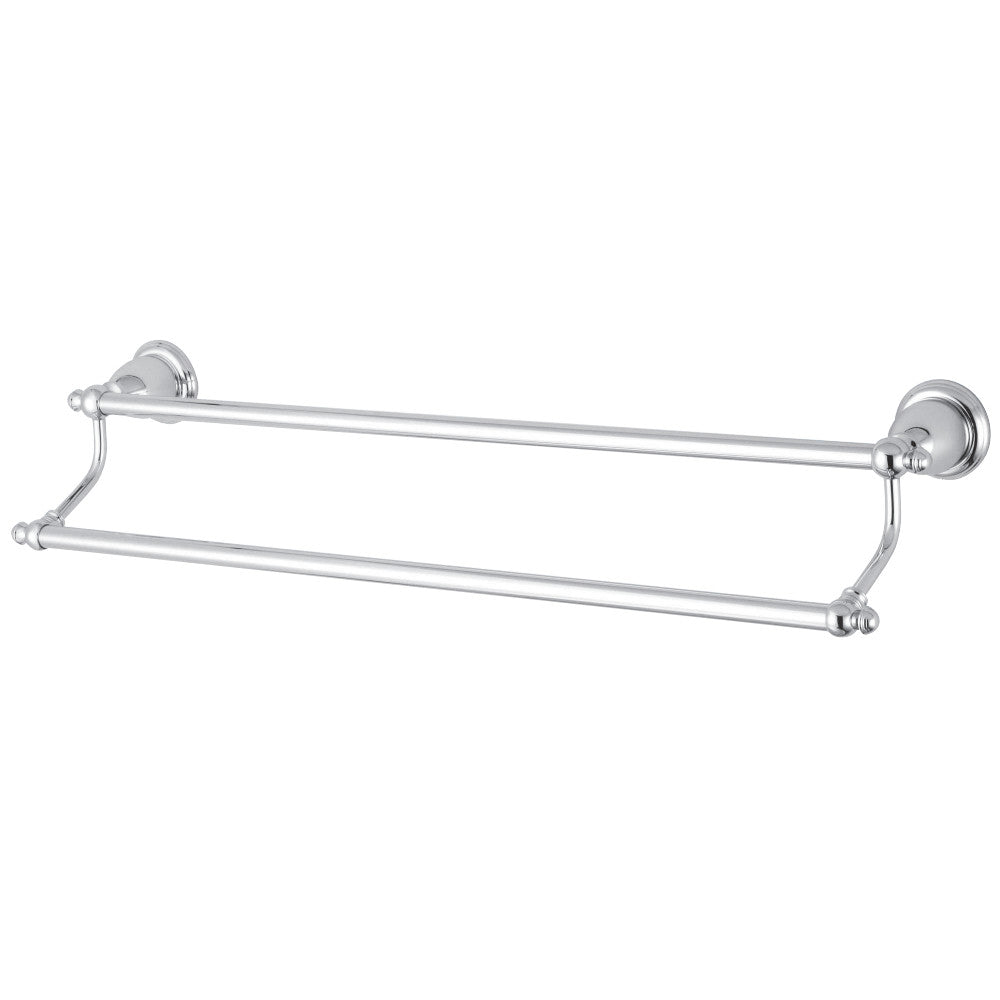 "Kingston Brass English Vintage 24"" Dual Towel Bar"