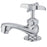 Kingston Brass KF301 Compression Basin Faucet in Polished Chrome-DirectSinks