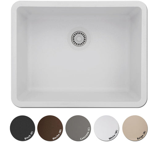 Lexicon Platinum 2318 Quartz Composite Sink-Kitchen Sinks-DirectSinks