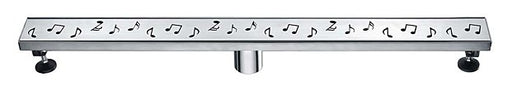 Dawn Shower Linear Drain - Seine River Series-Bathroom Accessories Fast Shipping at DirectSinks.