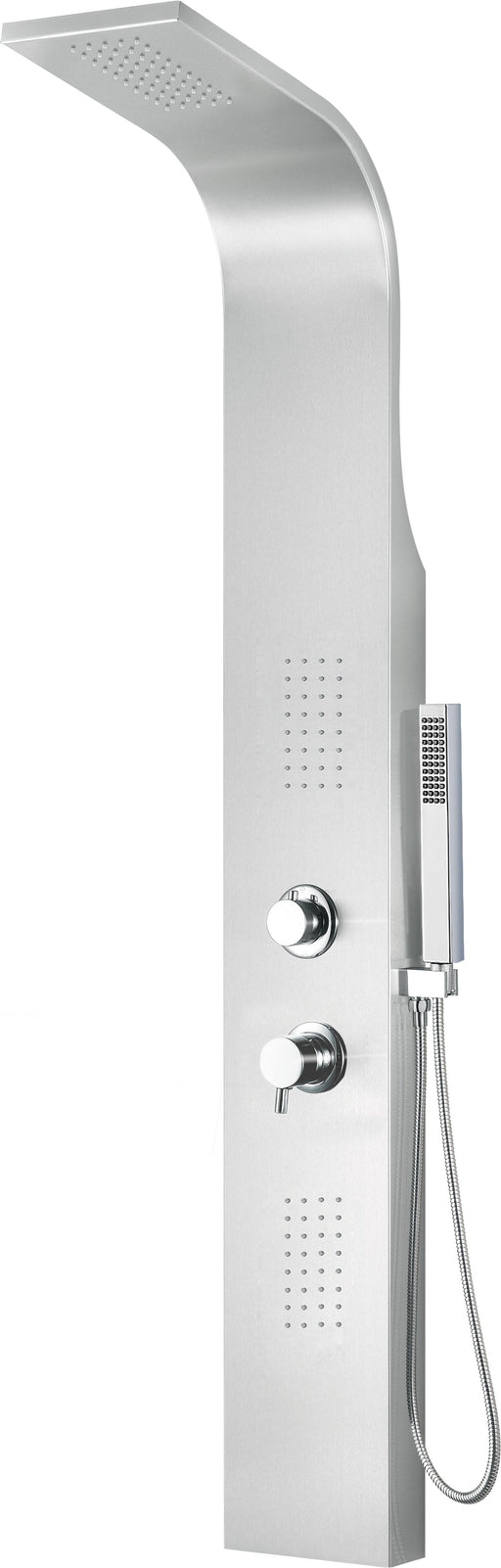 Alfi Brand ABSP20 Modern Stainless Steel Shower Panel with 2 Body Sprays-DirectSinks