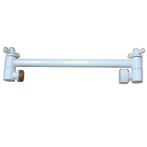 "Kingston Brass Plumbing Parts 10"" High-Low Shower Arm Adjustable"