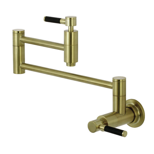 Kingston Brass Concord Wall Mount Pot Filler Kitchen Faucet
