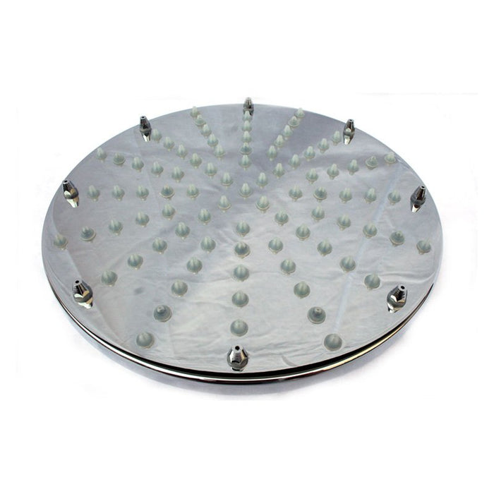 "Alfi LED5002 8"" Round Multi Color LED Rain Shower Head-DirectSinks"