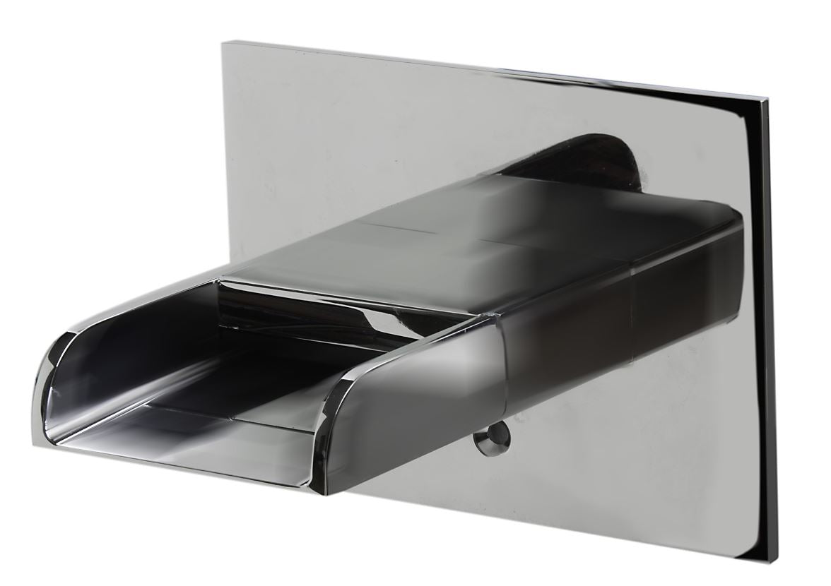 AB5901-PC Polished Chrome Waterfall Tub Filler