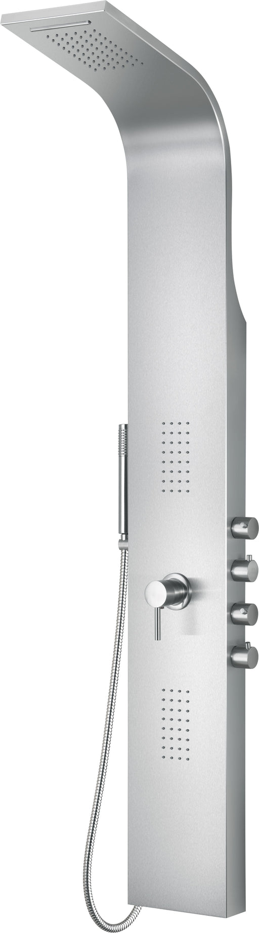 Alfi Brand ABSP30 Modern Stainless Steel Shower Panel with 2 Body Sprays-DirectSinks