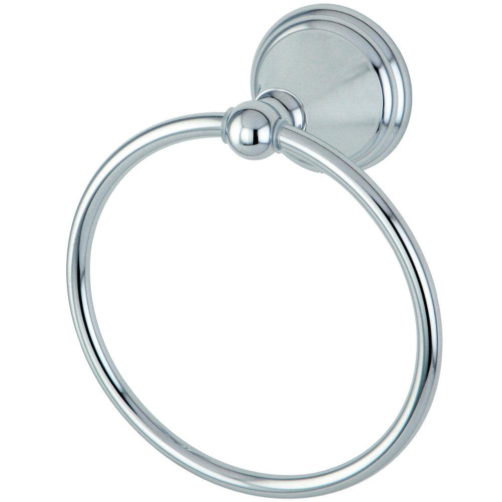 "Kingston Brass Governor 6"" Towel Ring"