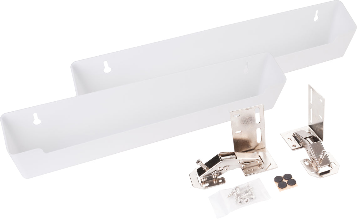 "Hardware Resources 14-3/4"" Shallow Sink Tipout Tray Pack-DirectSinks"