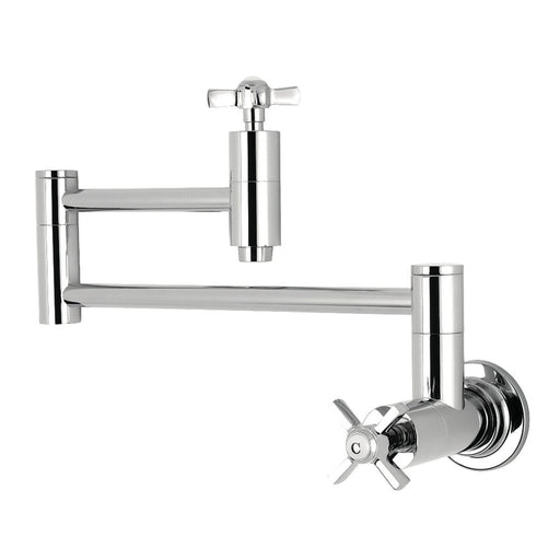 Kingston Brass Millennium Wall Mount Pot Filler Kitchen Faucet