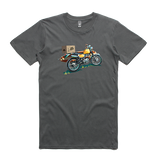Bach Brewing Mens T-shirt - Surf Motorbike