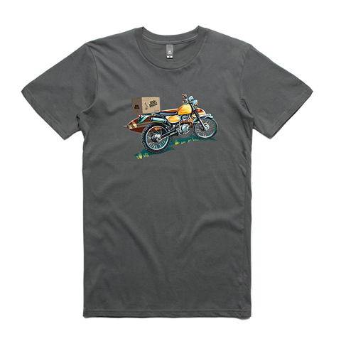 Bach Brewing Short Sleeve T-shirt - Surf Motorbike