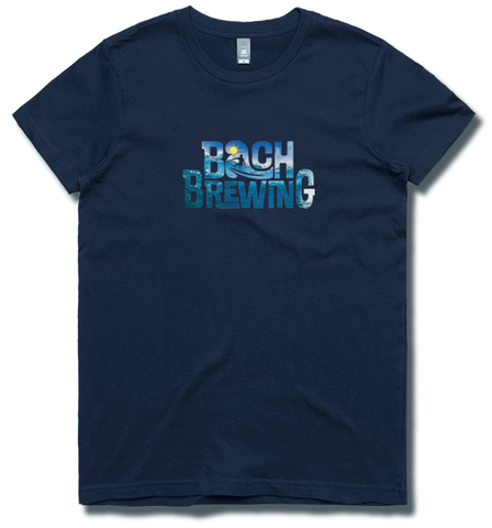 Bach Brewing Womens T-shirt - Wave Logo