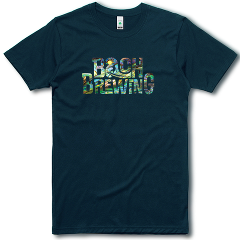 Bach Brewing Short Sleeve T-shirt - Paua Logo