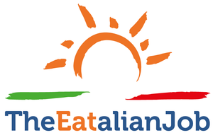 The Eatalian Job logo