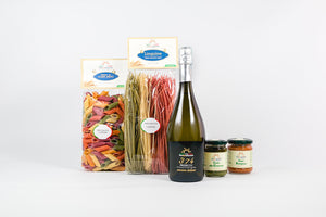 The Eatalian Job (pasta luxury box, 2 bottles of wine)