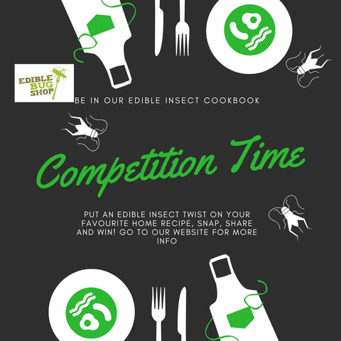 Edible Bug Shop Competition