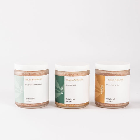 body scrub trio