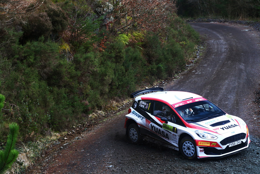 Edwards storms to Cambrian Rally win