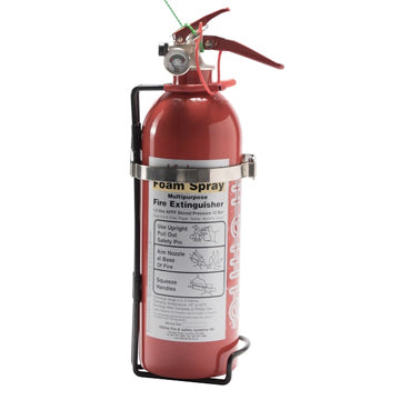 Lifeline 4 Litres Fire Marshal Mechanical Replacement Steel Bottle