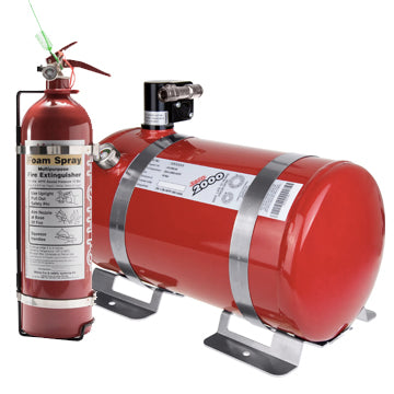 Lifeline 4 Litre Electrical Extinguisher & 2.4 Litre Hand Held Extinguisher