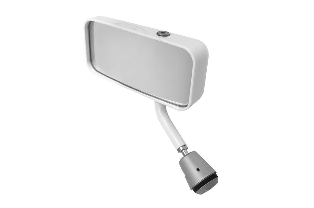 Lifeline MSA Formula Car Mirror - White - Left Hand