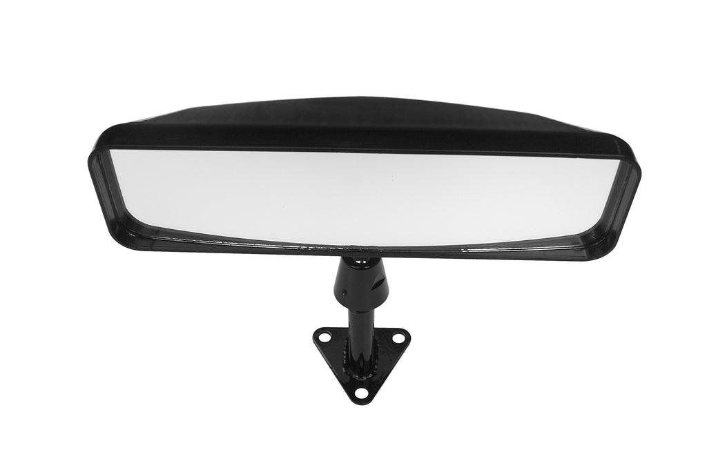 Lifeline Sports Car Mirror - Centre Mount - Black - 50mm Stem Height