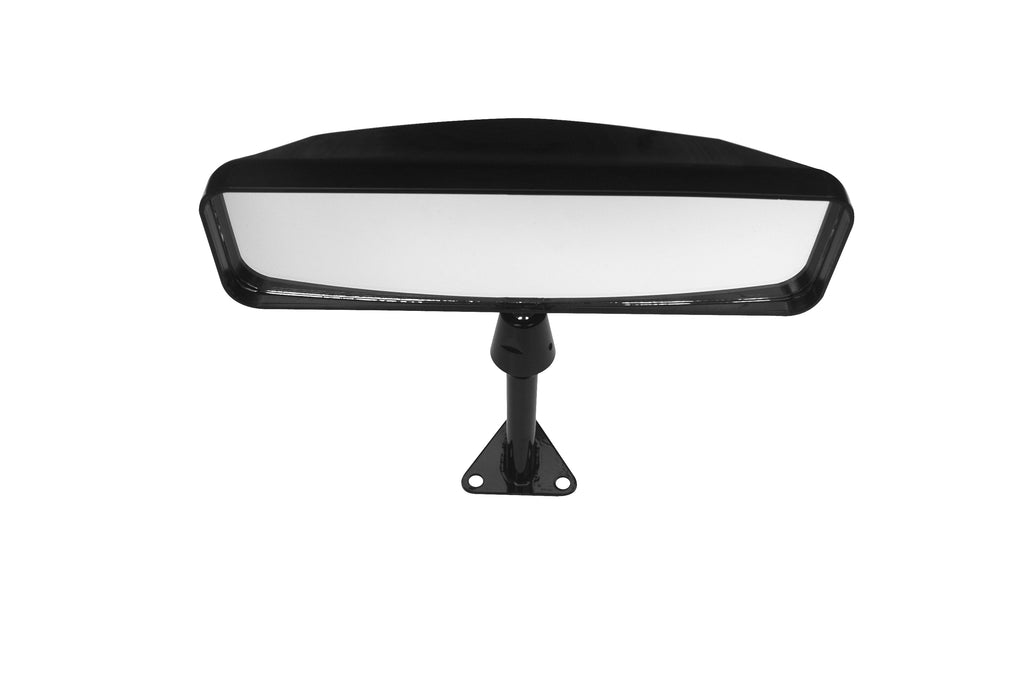 Lifeline Sports Car Mirror - Centre Mount - Black - 75mm Stem Height