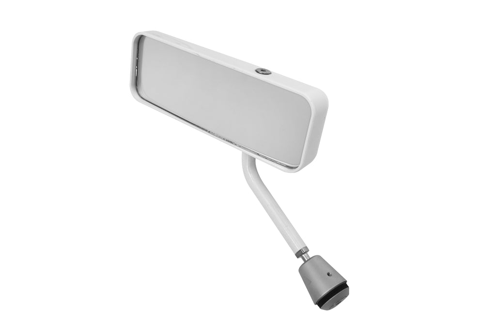 Lifeline FIA Formula Car Mirror - White - Left Hand