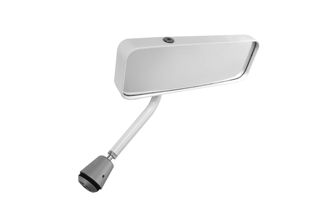 Lifeline FIA Formula Car Mirror - White - Right Hand