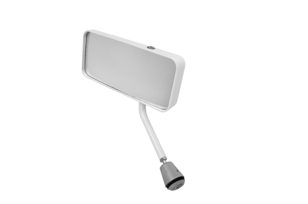 Lifeline FIA Touring/GT Car Mirror - White - Left Hand