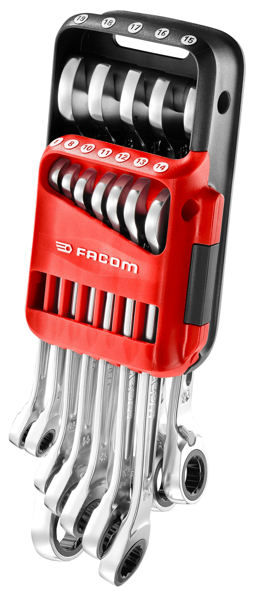 FACOM Pocket Set of 12 Spanners