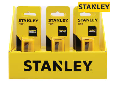 STANLEY Display Of 18 X 1992 10 Blade Dispensers