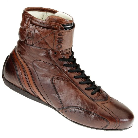 OMP Carrera High Boots Dark Brown Size 41 (7)