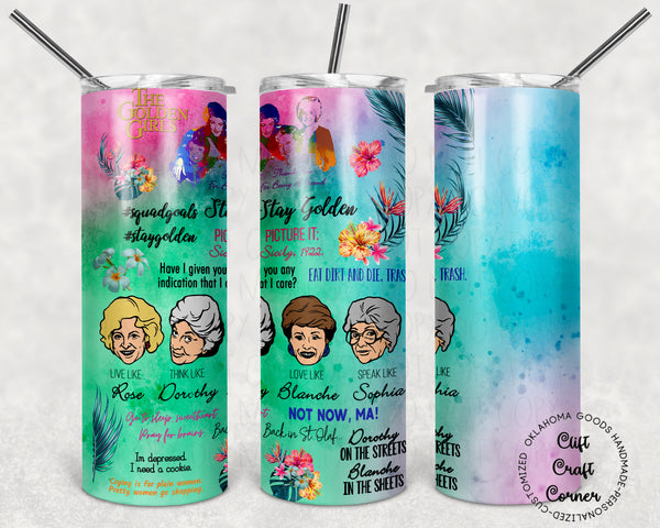 Personalized Golden Girls Tumbler